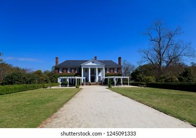 Boone Hall Plantation in Mount Pleasant South Carolina