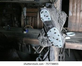 Boot Spikes Terra Nova Hut Cape Evans