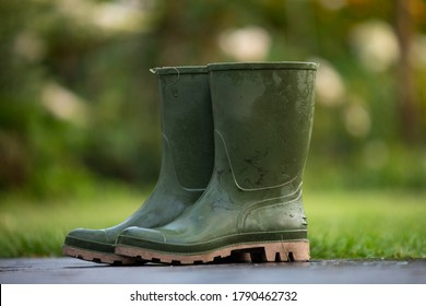boots rain rubber garden footwear