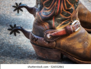fbf5e44b388 Vintage Cowboy Boots Stock Photos, Images & Photography | Shutterstock