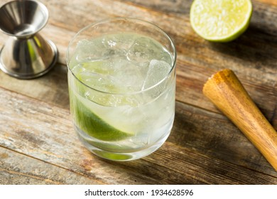 Boozy Refreshing Rhum Ti Punch with LIme Juice