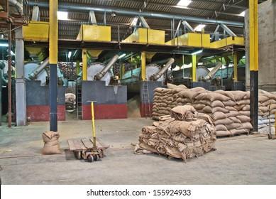 Coffee Factory Images Stock Photos Vectors Shutterstock