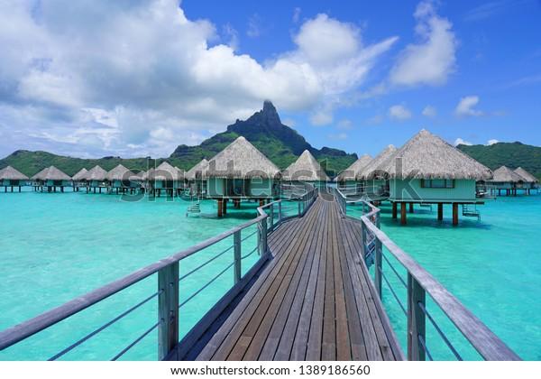 Bora Bora French Polynesia 7 Dec Stock Photo Edit Now