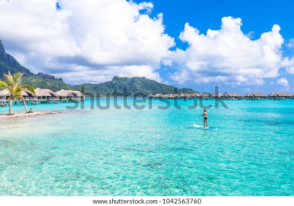 Bora Bora Island French Polynesia Stock Photo Edit Now