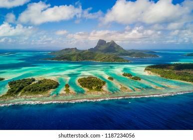 Bora Bora Motu Islands