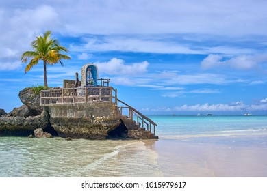 Boracay island Grotto,  Willy's Rock, Famous and Controversial Landmark , Philippines
