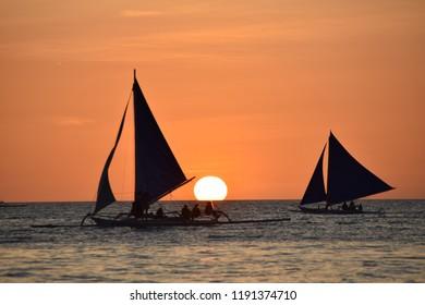 Boracay island, Visayas, Philippines