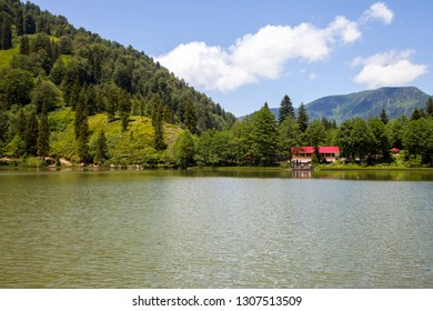 Borcka Black Lake is in Artvin city.
