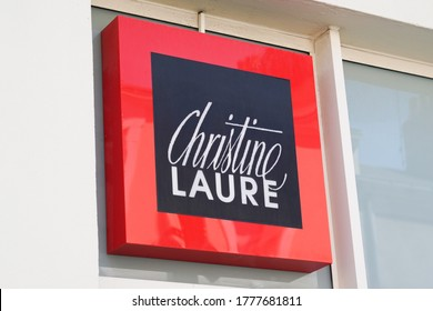 Bordeaux , Aquitaine / France - 07 07 2020 : Christine Laure logo text store sign brand of shop for women fashion clothing