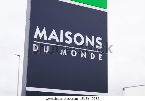 Bordeaux Aquitaine France 09 24 2019 Stock Photo (Edit Now ...