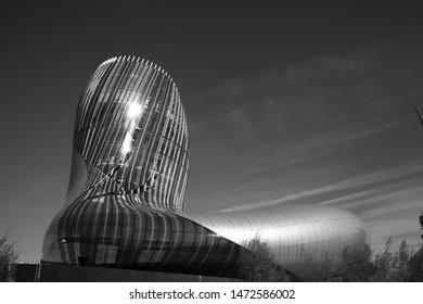 Bordeaux, France - 2-10-2018 : Cité du Vin museum