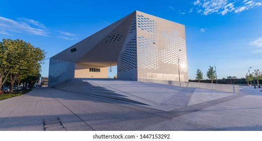 Bordeaux, France - July 2019 : La MECA Museum in Bordeaux France, the House of Creative Economy and Culture