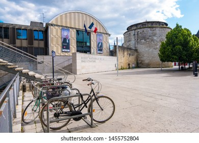 Bordeaux, France - May 5, 2019 : The French National School for the Judiciary or Ecole nationale de la magistrature or ENM in Bordeaux, France
