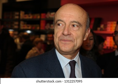 Bordeaux, Gironde, Nouvelle Aquitaine - 02 02 2019 : Alain Juppe will leave his mayoral chair in the Bordeaux town hall. He was appointed to the Constitutional Council by Richard Ferrand.