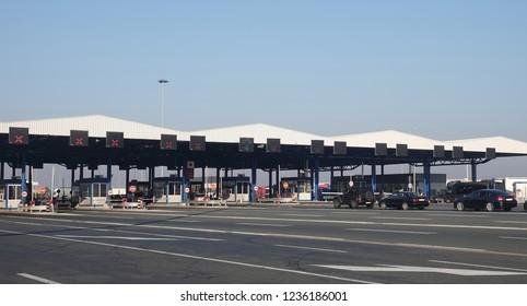 Border control customs international crossing