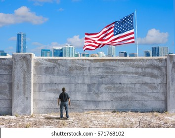 The border wall between United States of America and the rest of the world some U.S. legislators would like to build because of xenophobia. Is this good or bad? Does this isolation make America great?