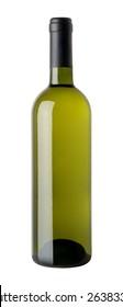 Bordolese Bianco vetro verde con capsula - Green glass black capsule