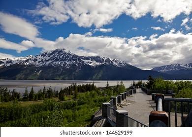 Bore Tide Viewing Area, Seward Highway, Alaska