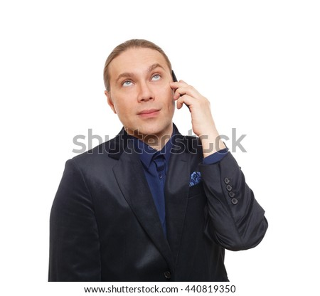 Bored Man Annoyed Face Emotion Doubtful Stock Photo (Edit Now