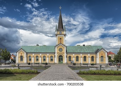 Borgholm Church is a church in Borgholm on Swedish Baltic Sea island of Oland. Belonging to Borgholm Parish and the Church of Sweden