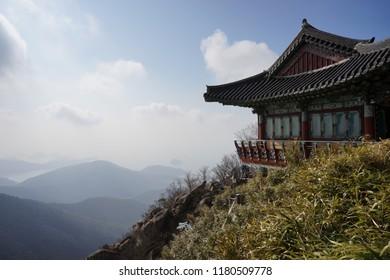 Boriam Hermitage, a temple in South Korea