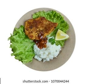 Boricua Style Bistec Empanizado  - Breaded Beef Steak,Cube Steak