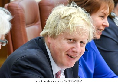 Boris Johnson, Secretary of State for Foreign Affairs during visit to Kyiv, Ukraine. 01-03-2017