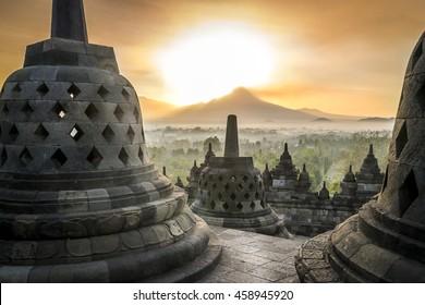 Borobudur, sunrise