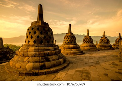 Borobudur Temple Compounds This famous Buddhist temple, dating from the 8th and 9th centuries, is located in central Java