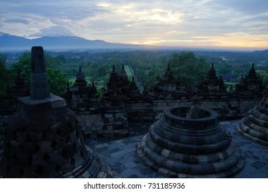 Borobudur Temple Compounds - UNESCO World Heritage Site in Indonesia