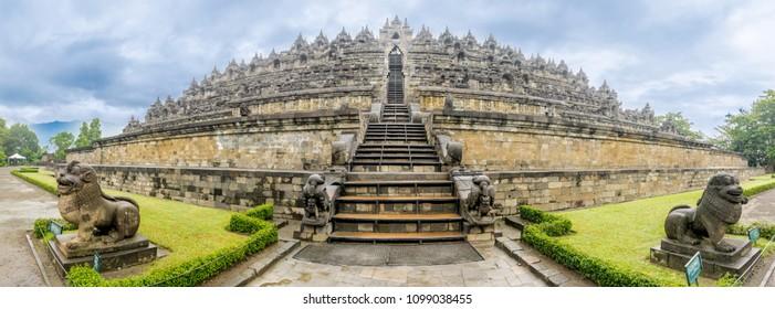 Borobudur Temple Historic Buddhist Temple
