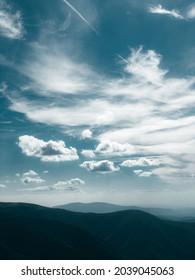Borzhavsky Range. Karpaten. Ukraine. Berglandschaft