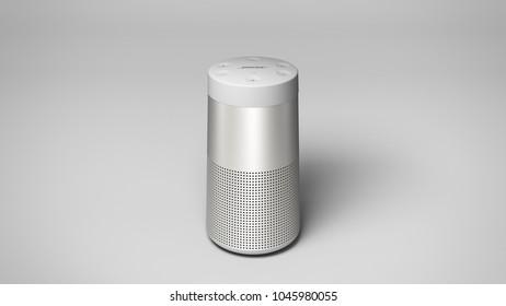 Bose Sound Link Revolve -white -top -centered