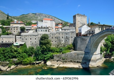 Bosnia and Herzegovina, ancient city of Mostar