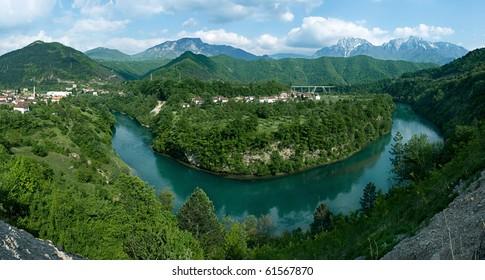 Bosnia and Herzegovina, river of Neretva