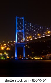 Bosphorus Bridge from Istanbul, Turkey