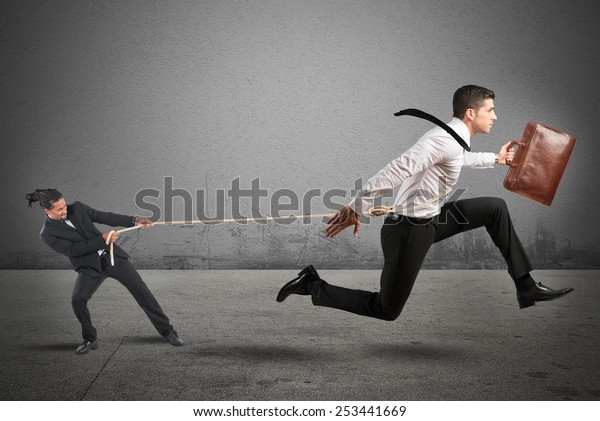 Boss tries to strongly retain his employees