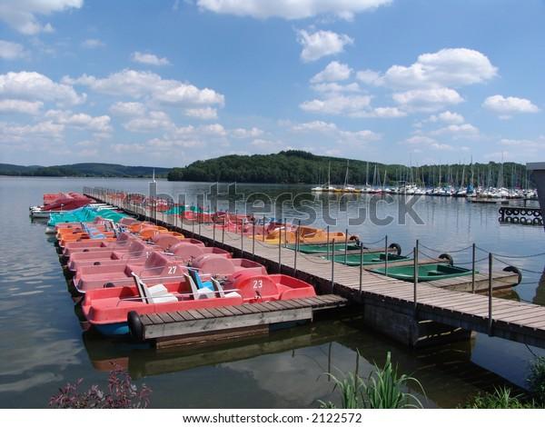 Bostal See boat docks