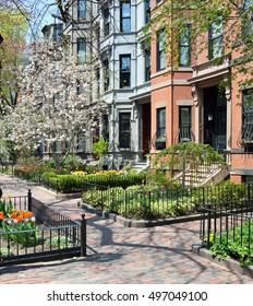 Boston Back Bay, landmarked neighborhood