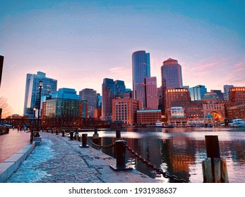 Boston city, the marvelous time