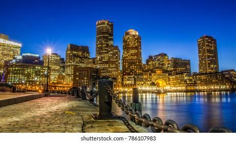 Boston city skyline [Boston, MA]