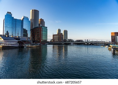 Boston Docks.