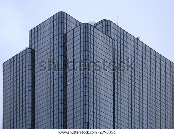 Boston downtown skyscrapper geometry