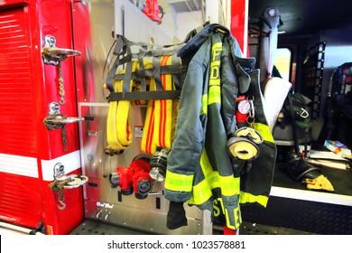 Boston - Firemen uniform
