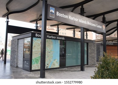 BOSTON, MA - February 20 2018.building for tourists to discover attractions.review maps for a tourists.