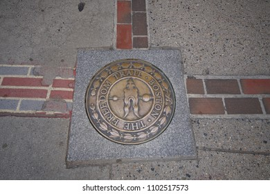 Boston, MA / USA - May 26, 2018: Boston Freedom Trail
