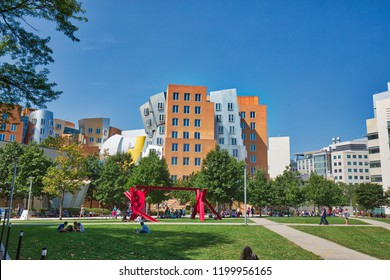 BOSTON, MA, USA – October 16, 2017: World-famous MIT institute of technology