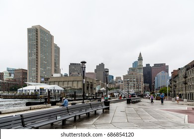BOSTON, MASSACHUSETTS - September 2, 2013: Boston is one of the oldest cities in the States and is rich in history. This brings in a huge tourism industry to pubs, restaurants and historic sites.