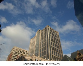 Boston, Massachusetts / USA - 9/4/2018: 500 Boylston Street Building