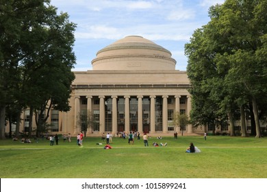 Boston, Massachusetts, USA - September 2 2017: Massachusetts Institute of Technology
